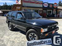 Make Nissan Model Pathfinder Year 1995 Colour Black