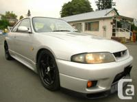1995 Nissan Skyline GTR, All wheel drive, twin turbo