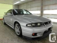 1995 Nissan Horizon GTR, double turbo RB26DETT engine,