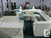 1995 Premier 21' Fish/Cruise Pontoon Boat w/40hp Merc &