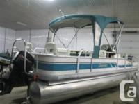 1995 Premier 21' Fish/Cruise Pontoon Boat w/40hp Merc &