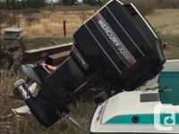 17 Foot, Mercury XR6 150 outboard with high five
