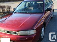 1995 Subaru Legacy for sale. I'm the second owner -