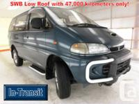 Mitsubishi Delica L400 Short Wheel Base Low Roof with