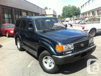 1995 Toyota land cruiser 4x4  -172,000 Mileage -AC