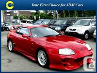 1995 Toyota Supra SZ R Kind.  Certified reduced