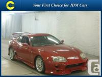 VANCOUVER SPEED CARS.  1995 Toyota Supra SZ-R KIND