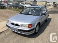 Make Toyota Model Tercel Year 1995 Colour BLUE kms