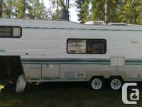 1995 Travelaire Rustler Fifth tire 24.5 Feet Trailer