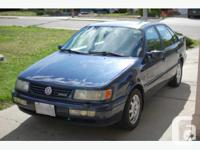 KELOWNA, BC 1995 Volkswagen Passat GLX VR6 $4,500 With