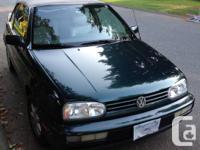 1995 Volkswagen Cabriolet Convertible Standard