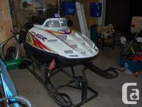 Parting out 1996 and 1998 Polaris XCR 600 High Output
