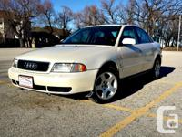 Make Audi Model A4 Year 1996 Colour White kms 191300