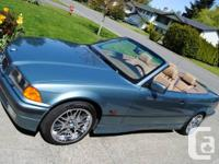 Up for sale is my 1996 328I convertible with 160xxx km