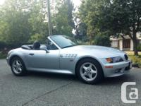 Make BMW Model Z3 Year 1996 Colour Silver kms 142433