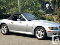 Make BMW Model Z3 Year 1996 Colour Silver kms 142433