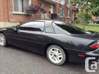 Make Chevrolet Model Camaro Year 1996 Colour Black kms