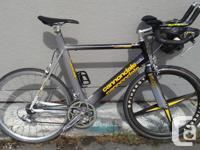 This bike has some history behind it!! It was raced in