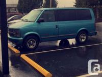 Make Chevrolet Model Astro Year 1996 Colour Blue kms
