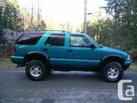 1996 Blazer Sport, 4-Door SUV, 4.3 V6, 217,000 kms on