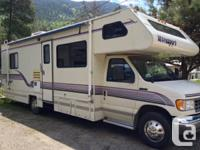 1996 Damon Class C Motor house 29'. Ford Chassis E350,