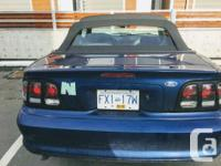 Make Ford Model Mustang Year 1996 Colour Blue kms