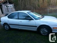 1996 Dodge Neon for Parts car, it has an dash