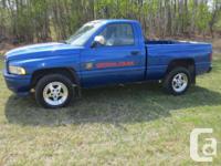 Make Dodge Model Ram 1500 Year 1996 Colour Blue kms