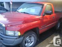 Make Dodge Model 1500 Year 1998 Colour RED kms 280000