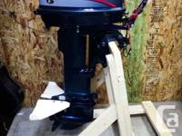 1996 Evinrude 25HP Long Shaft Outboard Motor with