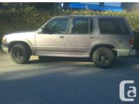 1996 Ford Explorer XLT 150K Miles Aircared Runs well,