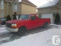 Make. Ford. Design. F-150. Year. 1996. Colour. Rouge.