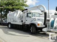 Used, 1996 FORD L8000 VAC-CON  MAKE: FORD   MOTOR: CUMMINS for sale  Ontario