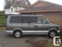 Selling my 1996 GMC Safari XLT.  4.3L V6 (mpg