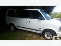 Make GMC Model Safari Year 1996 Colour White kms
