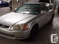 Make Honda Model Civic Sedan Year 1996 Colour Silver