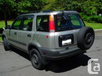 Make Honda Model CR-V Year 1996 Colour Silver kms