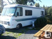 25 feet, Class A Low mileage, great shape Ford chassis
