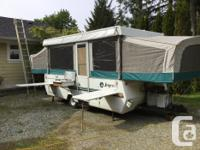 Jayco 1206 Jay series tent trailer. For our family of