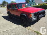 Make Jeep Model Cherokee Year 1996 Colour Red kms