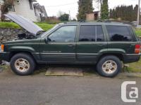 Make Jeep Model Grand Cherokee Year 1996 Colour Jeep