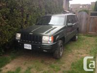 1996 jeep grand Cherokee limited orvis edition 157,xxx