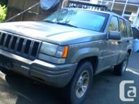 Make Jeep Model Grand Cherokee Year 1996 Colour grey