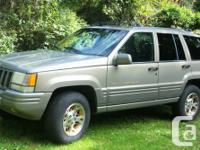 1996 Jeep Grand Cherokee Limited 4x4 V8-5.2L engine