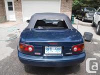 Make Mazda Model MX-5 Miata Colour Montego Blue Trans