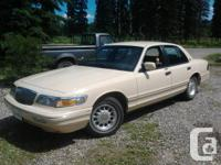 1996 mercury grand marquis. 4.6L v8 auto, 116,xx km's.
