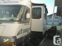 1996 Newmar Kountry Aire 37Ft Class-A Motorhome. Ford