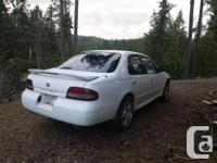 Make Nissan Model Altima Year 1996 Colour White kms