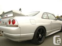 1996 Nissan Skyline GTR, All wheel drive, twin turbo