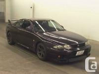 1996 Nissan Skyline GTR RB26DETT, twin turbo 2.6L